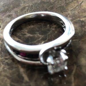 3/8 or .46 Carat Diamond Custom Engagement Ring